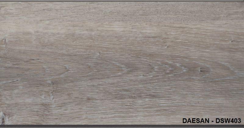 Á Đông Floor - Sàn Nhựa Hèm Khóa DAESAN DSW403
