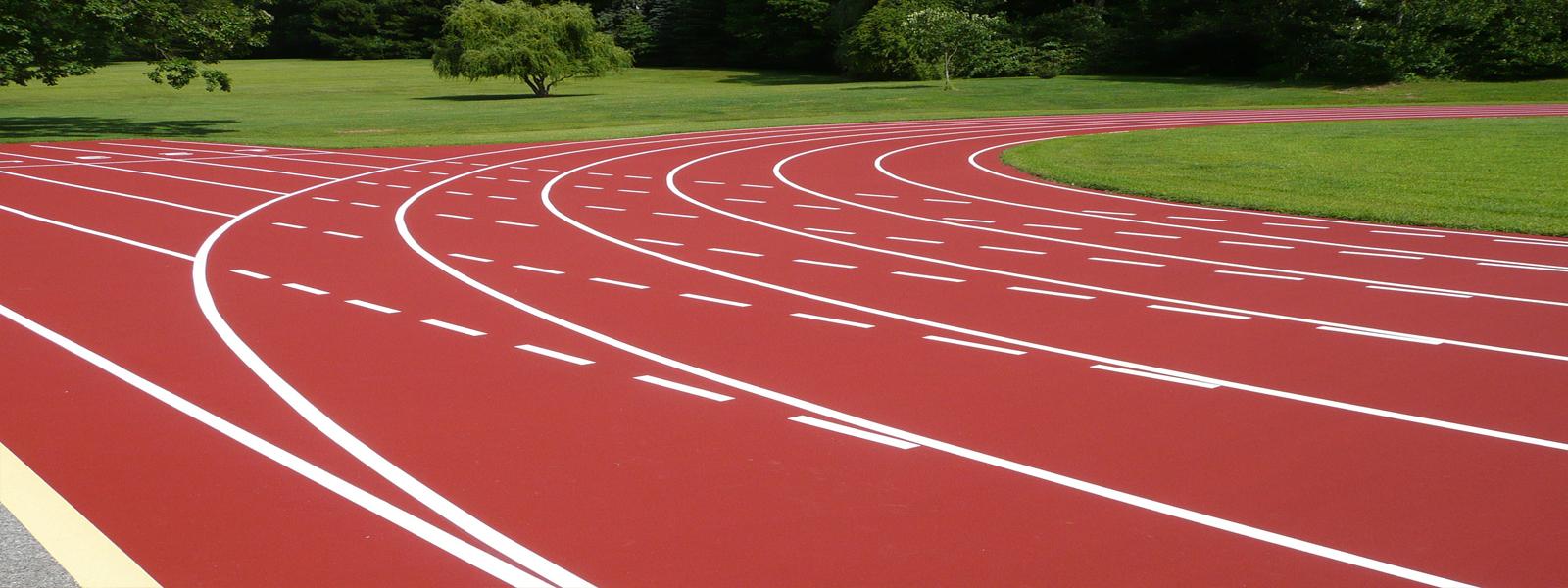 Đường Chạy Điền Kinh Thi công đường chạy điền kinh hay còn gọi là đường Piste trong sân điền kinh. Đạt tiêu chuẩn quốc tế trong tập luyện và thi đầu. Chi tiết