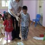 Ván Lót Sàn Nhựa Sử Dụng Cho Trường Mầm Non Binbon - ÁĐông Floor.