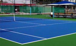 sân tennis ngoài trời