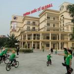 Sàn Nhựa Giả Gỗ Tại Trường Mầm Non Quốc tế Global - ÁĐông Floor.