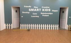 Sàn nhựa giả gỗ tại Trường mầm non SMART KIDS