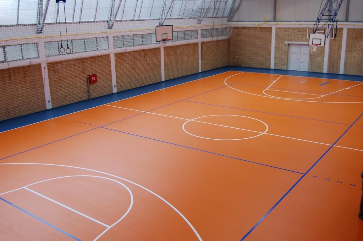 sàn nhựa vinyl sân thể thao, nhà thi đấu, nhà đa năng