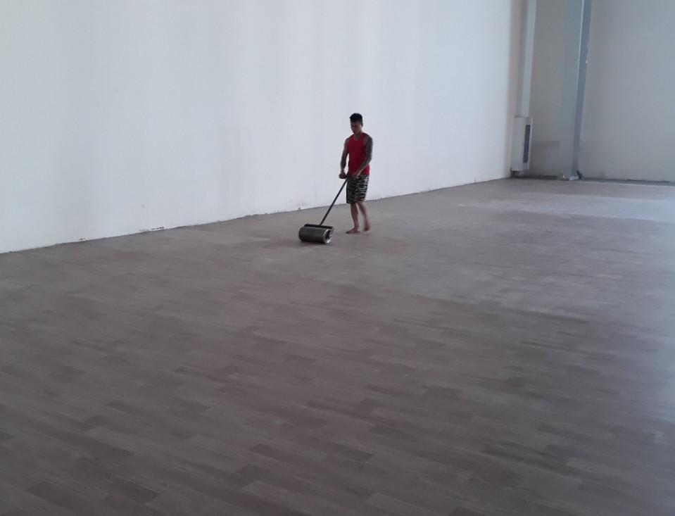 ÁĐông Floors – Thi Công Sàn Vinyl Đa Năng Thể Thao Aceflor Nhà Đa Năng Trường Pháp .
