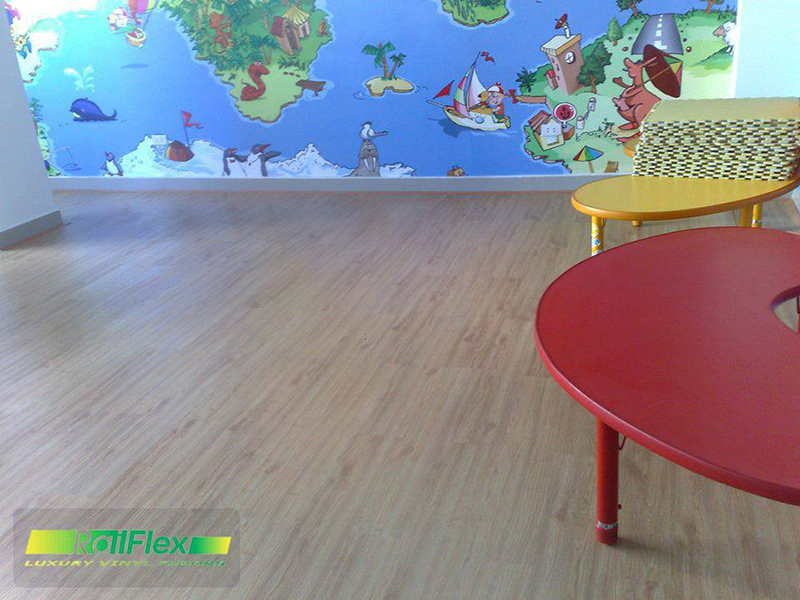 Sàn Nhựa Hèm Khóa Railflex RF503 .