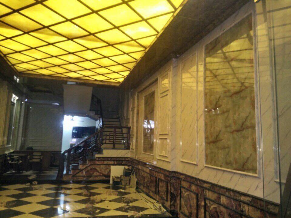 Tấm ốp tường Đá xuyên sáng - ÁĐông Floor .