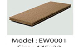 Thanh Sàn Gỗ Nhựa Ngoài Trời EW0001