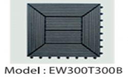 Vĩ Gỗ Nhựa EW300T300B